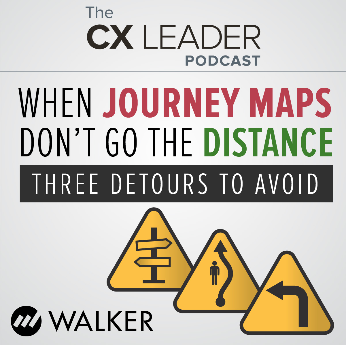 When Journey Maps Don't Go the Distance