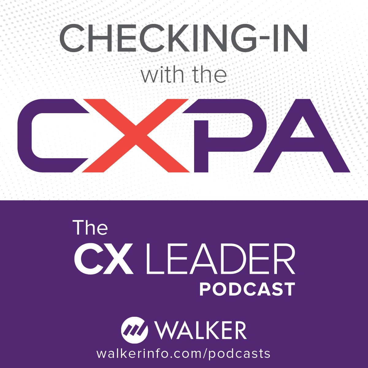 Checking-in with the CXPA