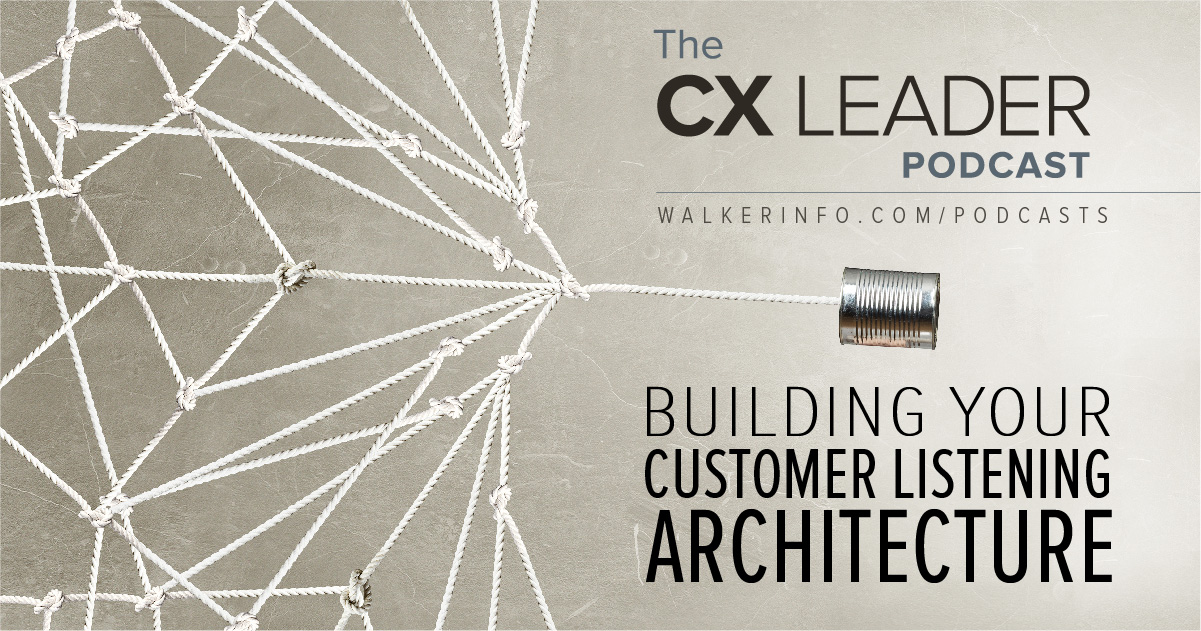 Building Your Customer Listening Architecture