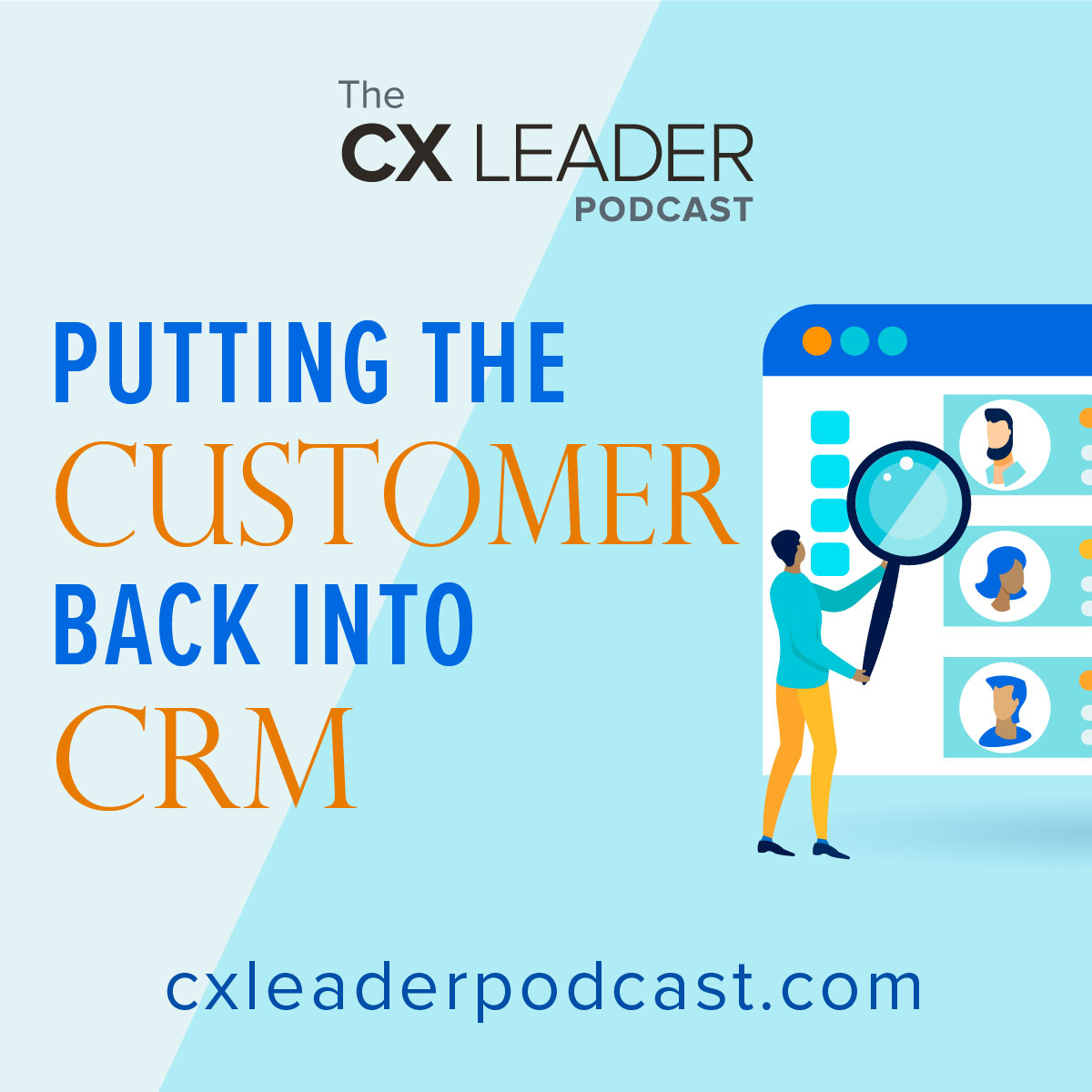 Putting the Customer back into CRM