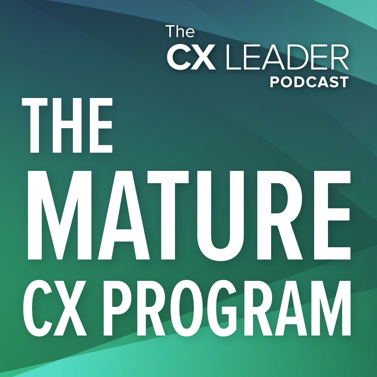 The Mature CX Program
