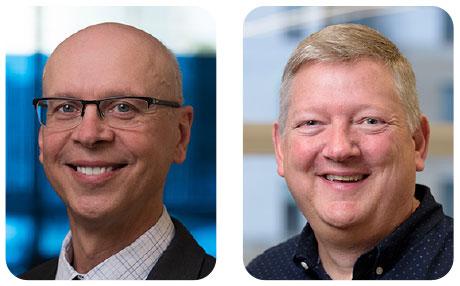 Gary Szeszycki and Mike Grindstaff